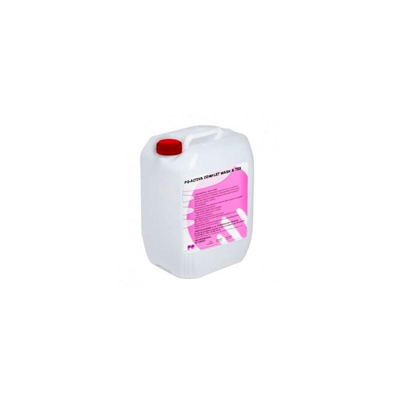 PQ-ACTIVA COMPLET WASH & TEX - Detergente líquido concentrado