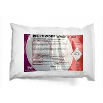 PQ-POWDER WASH & TEX 20 KG - Detergente Enzimático