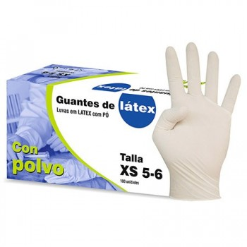 LATEX GLOVES BOX 100 UD...
