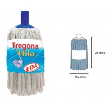 FREGONA ALGODON BLANCO DOMÉSTICA 180 gramos