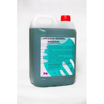 LIMPIADOR GENERAL MANZANA - Limpiador detergente perfumado