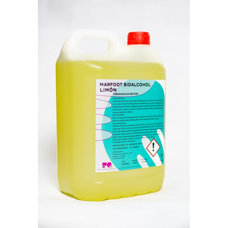 MARFOOT BIOALCOHOL LIMON - Fregasuelos bioalcohol neutro