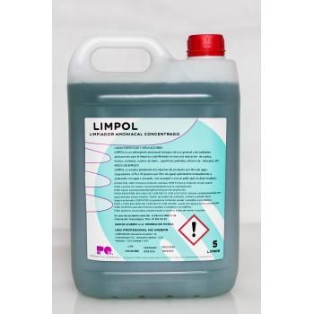 LIMPOL - LIMPIADOR AMONIACAL CONCENTRADO