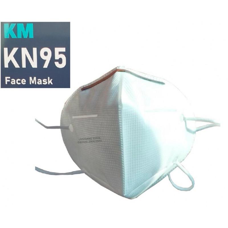 MASCARILLA KN95-FFP2 DE PROTECCIÓN BLANCA