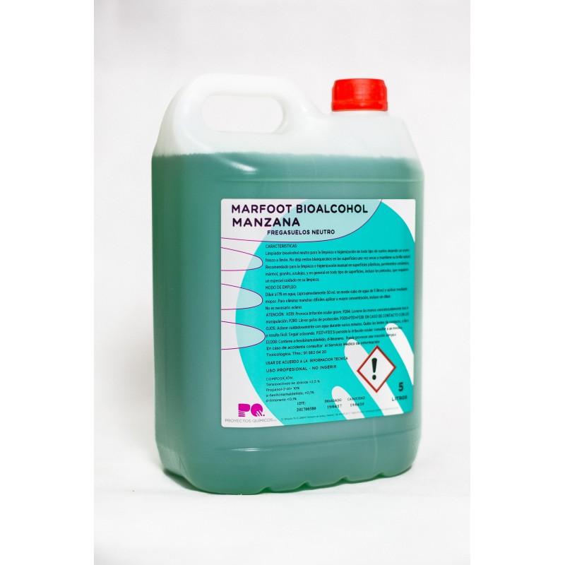 MARFOOT BIOALCOHOL MANZANA - Fregasuelos bioalcohol neutro