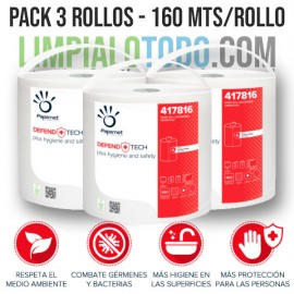 ANTIBACTERIAL WIPE ROLL - 3...