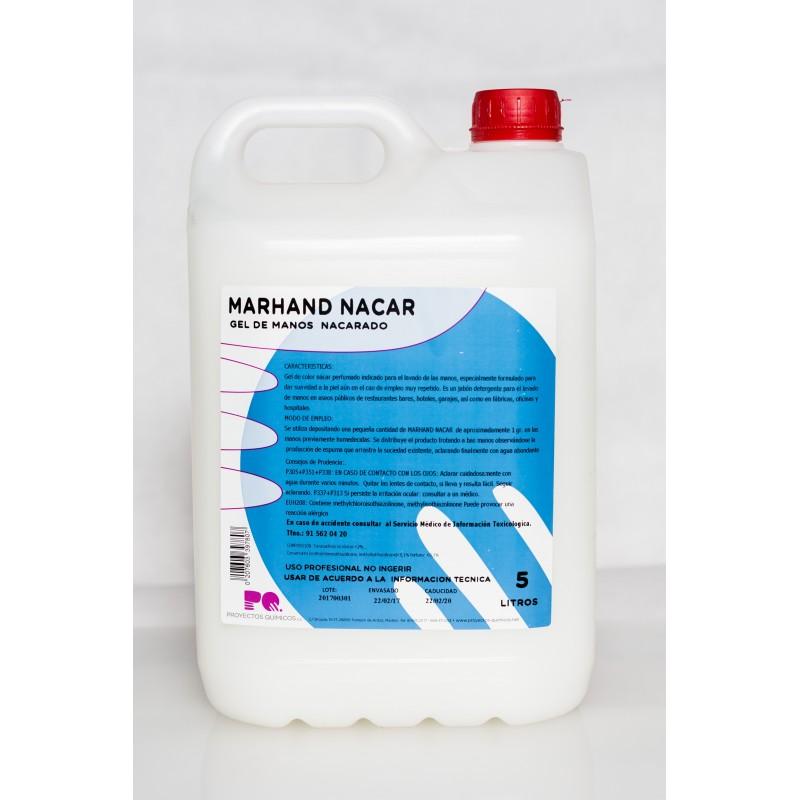 MARHAND NACAR - Jabón de manos nacarado