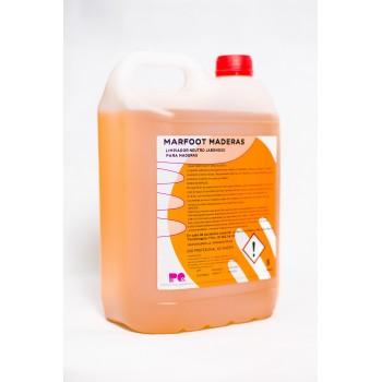 MARFOOT MADERAS - Limpiador jabonoso para suelos de madera