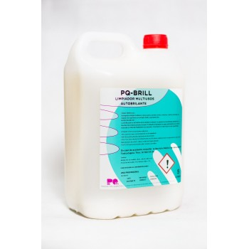 PQ-BRILL - Desengrasante Limpiador autobrillante-odorizante