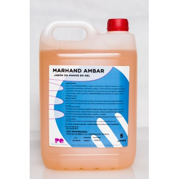 MARHAND AMBAR - Jabón de manos en gel