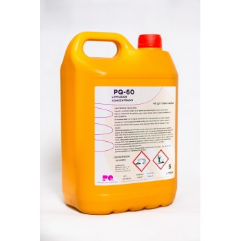 PQ-60 - Limpiador clorado concentrado