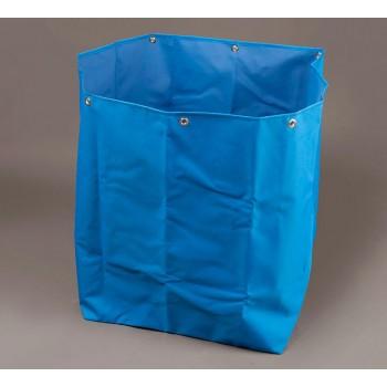 BLUE LAUNDRY FOLDING CART BAG