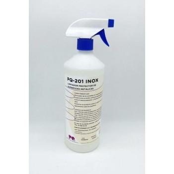 PQ-201 INOX PULVERIZADOR 1 LT - Limpiador-Protector de superficies metálicas