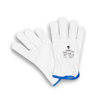 GLOVES GT-50 GREY COWHIDE