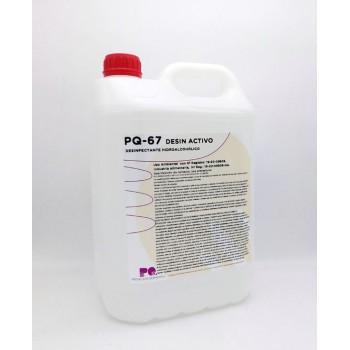PQ-67 DESIN ACTIVO - Desinfectante hidroalcohólico