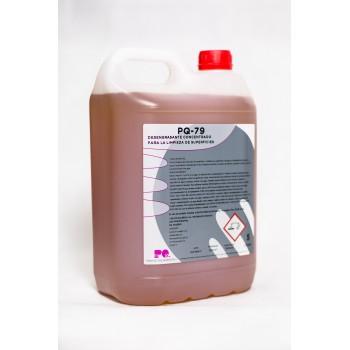 PQ-79 - Desengrasante concentrado para suferficies