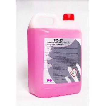 PQ-17 - Detergente desoxidante de limpieza exterior