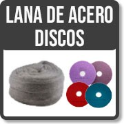 STEEL DISCS AND WOOL