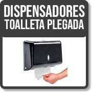 DISPENSADORES TOALLETA PLEGADA