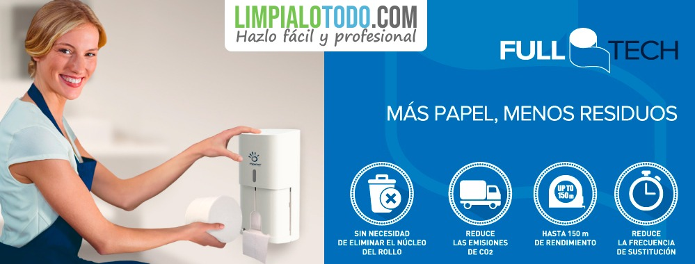 Papel higinieco Papernet Full Tech