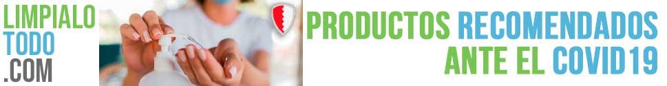 Productos desinfectantes virucidas antes el COVID19