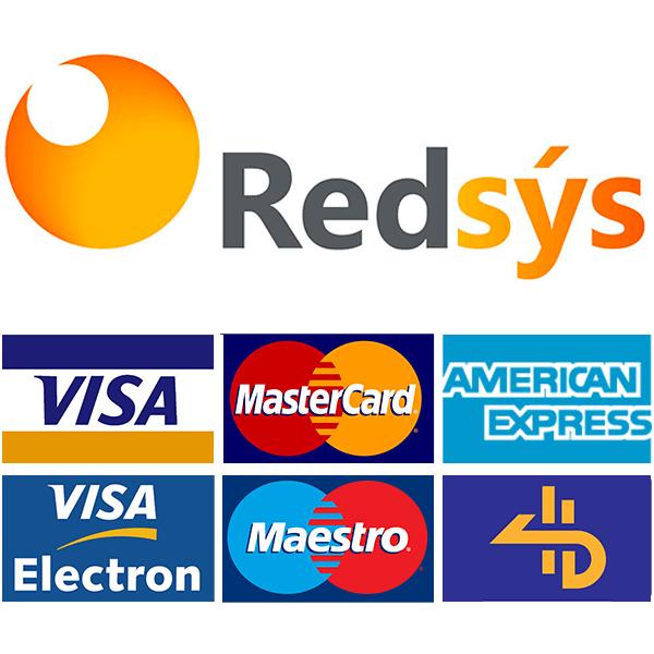 Pago 100% seguro con REDSYS LimpialoTodo.com